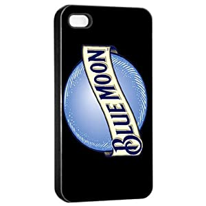Blue Moon beer logo black iphone 4/4s case at amazon