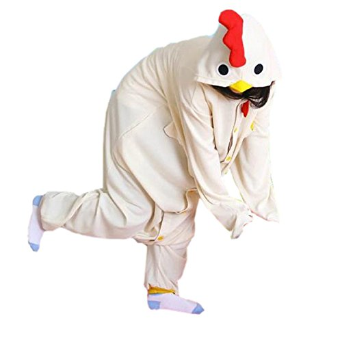 Adult Unisex Party Kigurumi Anime White Huge Cock Sleeping Wear