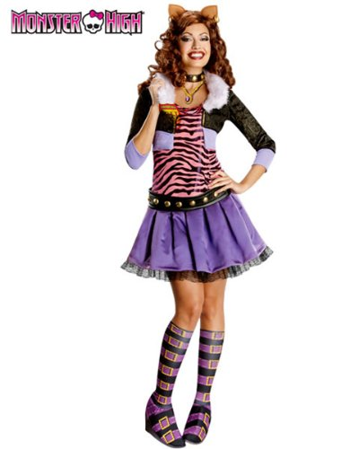 Rubies Costume Co R880702-L Womens Deluxe Clawdeen Wolf Adult Costume LARGE