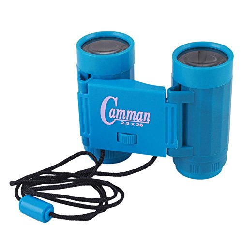 2.5 X 26 Binoculars Mini Children Telescopes Portable Sports Outdoor Hunting Tools Toy Blue