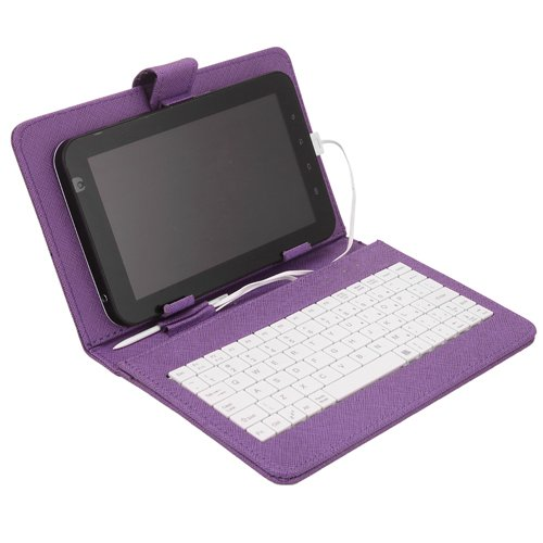 HDE® Hard Cover Case  Keyboard for 7