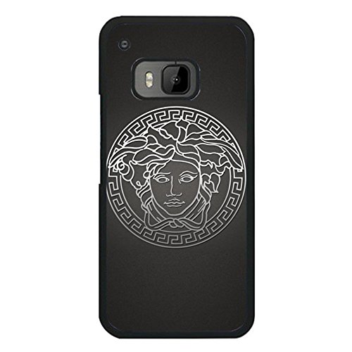 Htc One M9 Cover Case Versace Logo Phone Case for Htc One M9 Simple Prevdent Luxury Versace Pattern Cover