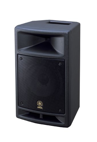 Yamaha MSR100 8-inch Powered Speaker with Built in 3 Input Mixer (Mixer Karaoke Yamaha compare prices)