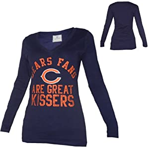 WOMENS Pink Victoria's Secret NFL Chicago Bears Long Sleeve Shirt from Pink Victoria's Secret