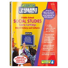 Middle School: World History and Cultures (Pre-Programmed Classroom Jeopardy Cartridge)