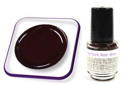 online-hut 1x Nagellack Nail Polish Mini 4,5ml Red Wine