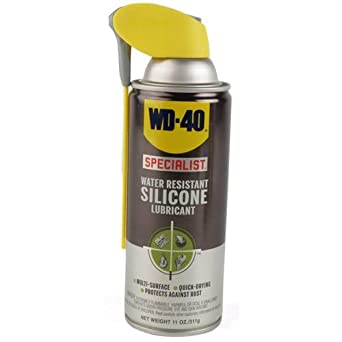 wd 40 300014 specialist water resistant silicone lubricant spray 11 oz pack of 1 automotive. Black Bedroom Furniture Sets. Home Design Ideas