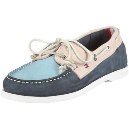 Tommy Hilfiger Women's Martha 2 B Boat Shoe Blue/Rice FW8BS02258 5 UK
