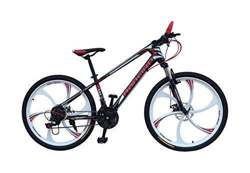 HI-BIRD RANEIRO (MAG WHEEL) 26 inch BLACK AND RED COLOR GEAR CYCLE