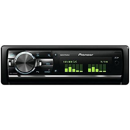 Pioneer DEH-X9600BT Autoradios 200 W Bluetooth, En Façade