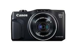 """Canon PowerShot SX700 HS Appareil photo numérique compact 16,1 Mpix Écran LCD 3"""" Zoom optique 30X Noir"""