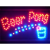 ADV PRO led094-r Beer Pong Get Your Ball Wet Led Neon Bar Sign Barlicht Neonlicht Lichtwerbung