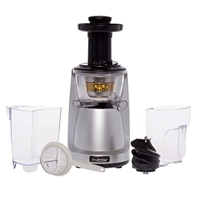 Fruitstar (Fs-610-b) Vertical Slow Masticating Juicer for Fruits and Greens