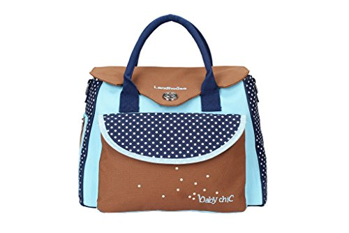 LANDHOUSE Women's Baby Diaper Nappy Bag Tote - 1