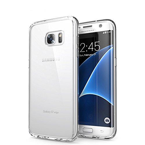 Custodia Galaxy S7 Edge, Or-Legol Galaxy S7 Edge Bumper Case Morbida Flessibile Estremamente TPU Gel Sottile Pelle Trasparente Antigraffio Protezione Cover per Samsung Galaxy S7 Edge