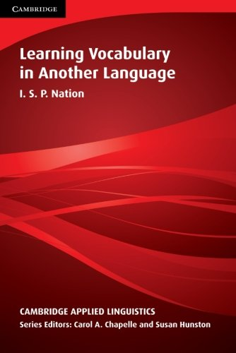 Learning Vocabulary in Another Language (Cambridge...