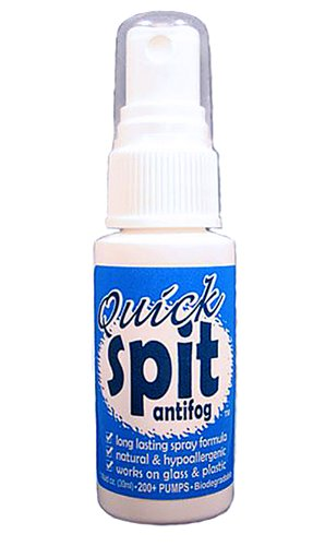 Jaws Quick Spit Antifog Spray, 1-Ounce