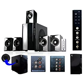 MA Audio MA5806 800 Watt Home 5.1 Powered Sub & Multi Speaker System