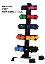 Neoprene Dumbbell Set- 10 Pairs w/ Rack