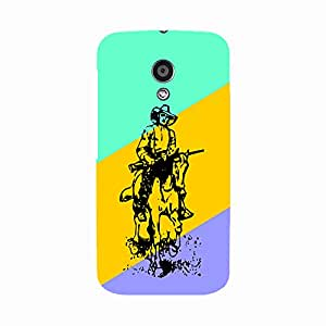 Digi Fashion Designer Back Cover with direct 3D sublimation printing for Moto X3