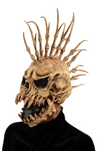 Forum Novelties Men's Sinister Fin Skull Adult Costume Mask