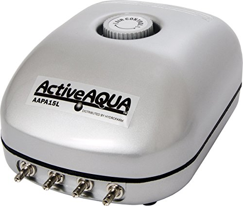 Active Aqua Air Pump, 4 Outlets, 6W, 15 L/min (Air Pumps For Fish Tanks compare prices)