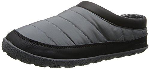 Columbia Men's Packed Out Ii Omni Heat Slipper,Charcoal/Black,8 M US