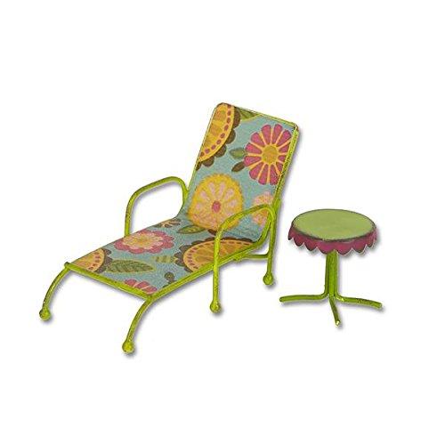 Studio M - Gypsy Fairy Garden -Mini Chaise Lounge w/ Table GG251