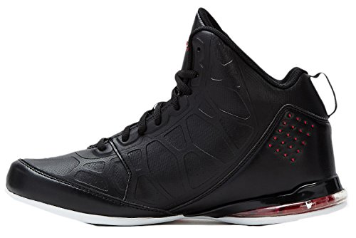 AND1 Men's Master 3 Black/Red Sneaker 12 D (M)