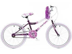 "Concept Starlight 20"" Girls Single Speed Mountain Bike 7-9yrs"