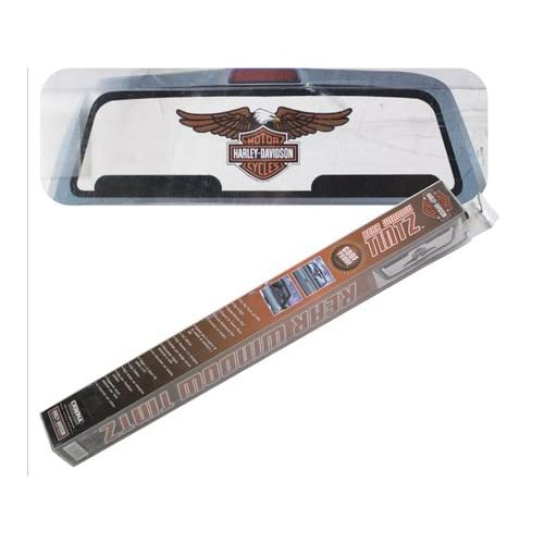 Harley Davidson Eagle Rear Window Graphic Tint Decal Automotive