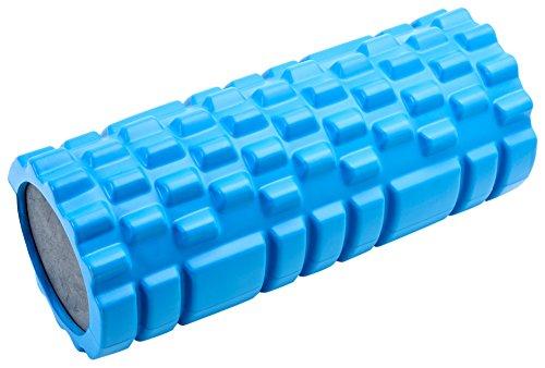 Movi Fitness MF543 Rullo per Massaggi e Yoga, Blu