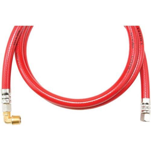 Savard Trk472B C000327 Calflex Trk472B 72-Inch Inner Braided Pvc Dishwasher Hose, Red front-616392
