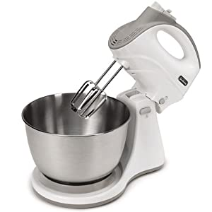 Sunbeam FPSBHS0302 250-Watt 5-Speed Stand Mixer, White