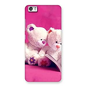 Cute Twin Teddy Multicolor Back Case Cover for Xiaomi Redmi Mi5