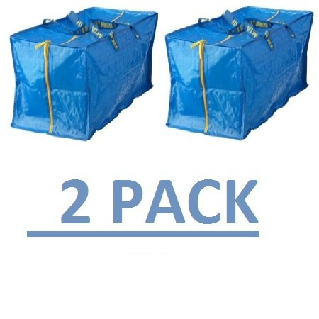 Cheapest Price! Ikea Frakta Storage Bag,Extra Large - Blue (2 PACK)