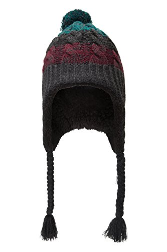 mountain-warehouse-sherpa-cable-mens-trapper-hat-burgundy