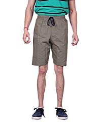 LLUMINATI FASHIONS SOLID MEN'S SHORTS (34)
