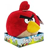 Angry Birds 8-inch Plush with Sound (Red)