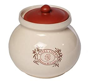 Mamma Ro Garlic Keeper, Terra Cotta
