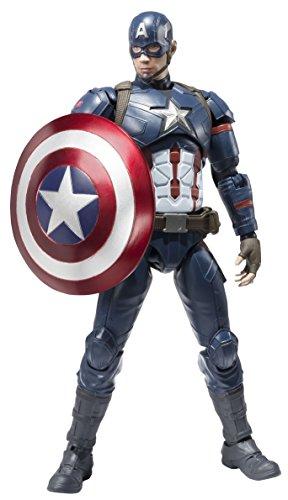 SH Figuarts Captain America (Civil War) about 150mm ABS & PVC painted action figure