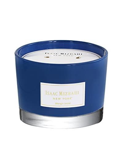 Isaac Mizrahi Scented 3-Wick Jar Candle, Midnight Orchid