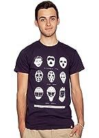 Rocket Factory Hockey Goalie Mask Evolution T-shirt Herren