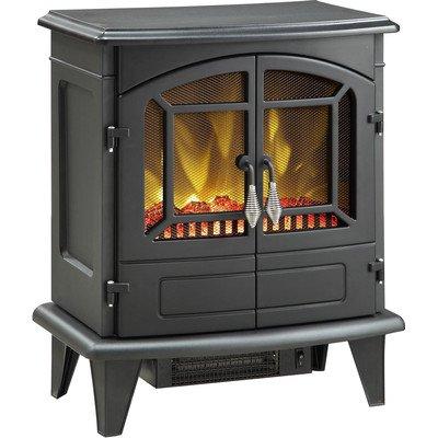 Muskoka MES30BL-3 Phoenix Electric Stove, 400 Square Feet, Black