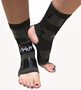 Mighty Grip Ankle Protector With Tack Medium