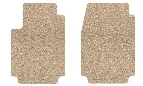 Black Coverking Custom Fit Front Floor Mats for Select Pontiac G6 Models Nylon Carpet