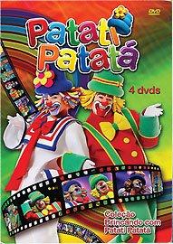 Patati Patata: Brincando Com Patati Patata (4 DVDs)