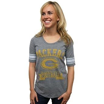 Amazon.com : Junk Food Clothing Women's Green Bay Packers