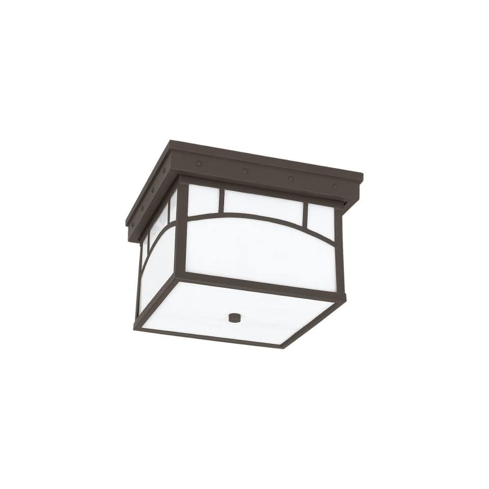 Sea Gull Outdoor 78230 Ceiling Light   7H in. Cottage Bronze