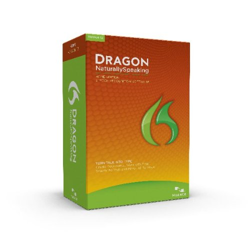 Nuance Communications, Inc. Dragon Home 12 Retail, Keycard, English